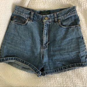 Ralph Lauren High Waisted Denim Shorts